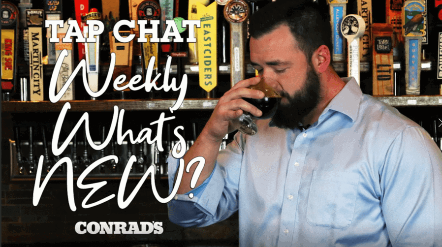 CONRAD'S TAP CHAT - Weekly What's New December 31, 2020